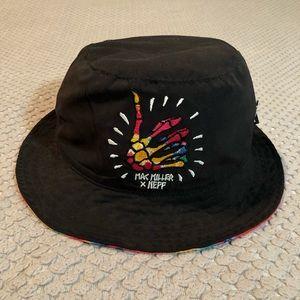 Mac Miller x Neff Reversible Tie Dye Bucket Hat